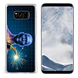 Liili Samsung Galaxy S8 plus Clear case Soft TPU Rubber Silicone Bumper Snap Cases IMAGE ID: 11840317 Human heart attack time as a symbol of urgent health problems due to poor cholesterol le