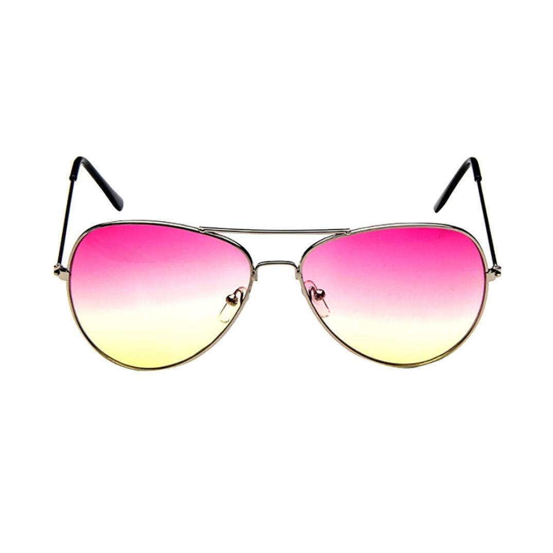 Amlaiworld Occhiale, Uomo donne moda retrò Aviator specchio lente occhiali da sole polarizzati (B) Amlaiworld-2