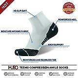 Compression Tennis Socks HUSO Moisture Absorb