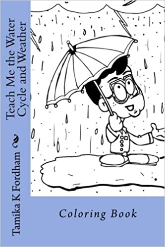 Amazon.com: Teach Me the Water Cycle and Weather: Coloring ...