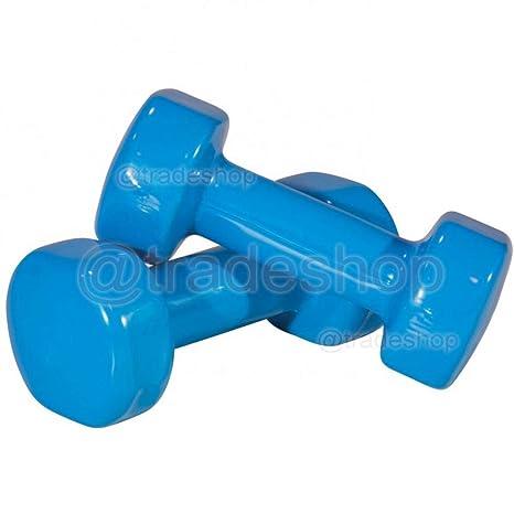 tradeshoptraesio® – Par Pesas Mancuernas pesas Gimnasio Fitness Pesas Entrenamiento Peso – 5lb