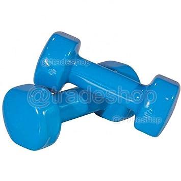 tradeshoptraesio® - Par Pesas Mancuernas pesas Gimnasio Fitness Pesas Entrenamiento Peso - 5lb: Amazon.es: Deportes y aire libre