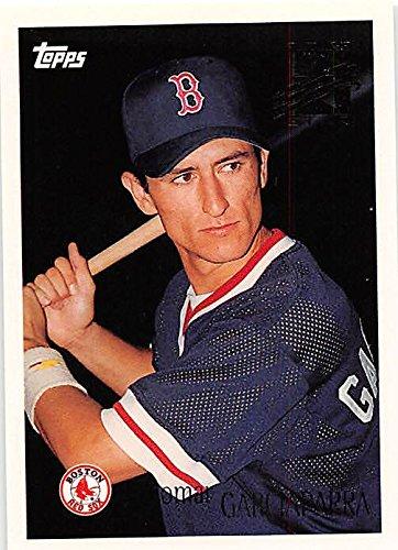 Nomar Garciaparra Baseball Card Boston Red Sox 1996 Topps