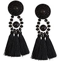 Misaky Fashion Tassel Chandeliers Drop Earrings