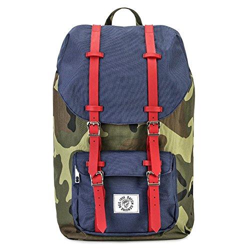 sac à dos, Ceccobleu,en tissu, Dimensions en cm: 52 l x 32 h x18 p