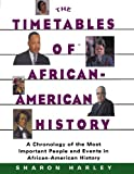 Timetables of African-American History: A