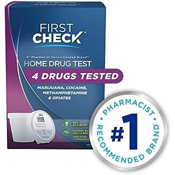 Amazon com: First Check at Home Drug Test Cup Kit, Marijuana