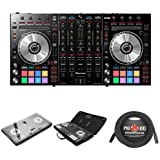 Pioneer Pro DJ DDJ-SX2 DJ Controller with Cover, Controller, and Cable