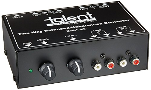 Talent SXC Two-Way Balanced/Unbalanced Converter by Talent