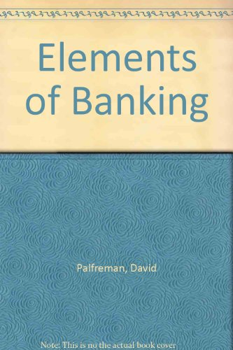 Elements of Banking
