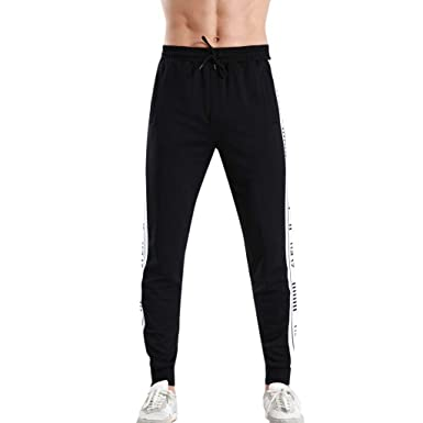 Pantalones Largos Cargo para Hombre, YanHoo Pantalones del chándal ...