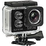 Câmera SJ7 Star SJCAM original FILMADORA 4k full hd 12mp gyro fpv sport a prova d´água 30m wifi touch - PRETA