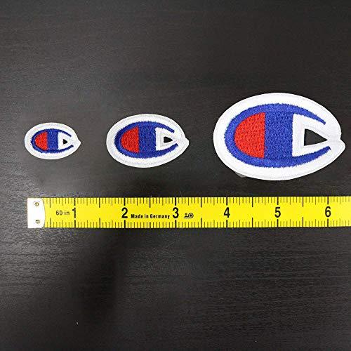9 Pack Champion Patches Multi Size DIY Applique Badge Decorative