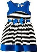 Youngland Little Girls' Striped Knit Fashion Dress