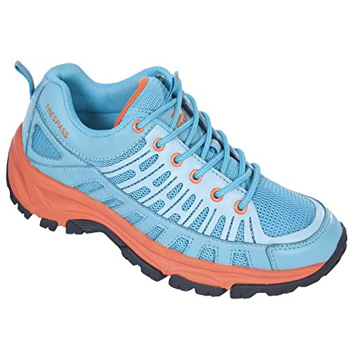 Women's Trespass Lane Running Cornflower Shoes 0RpPqw