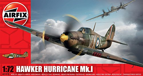 Airfix Hawker Hurricane MkI Model Kit (1:72 Scale)