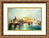 Framed Art Print 'Venice, 1897' by Thomas Moran