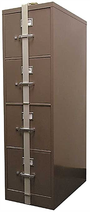 hpc slb44 security locking file cabinet bar 4 drawer