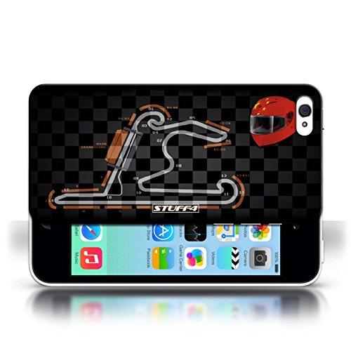 Etui / Coque pour Apple iPhone 5C / Chine/Shanghai conception / Collection de 2014 F1 Piste