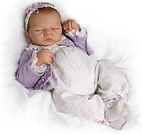 (Linda Webb's Sweet Dreams Emily Doll: So Truly Real Breathing Movement Baby Doll - 22