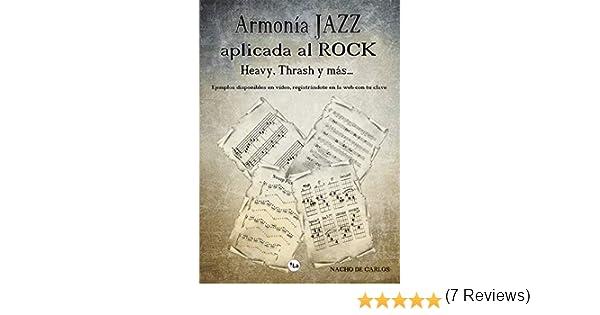 Armonía Jazz aplicada al Rock, Heavy, Thrash y más: Amazon.es: de ...