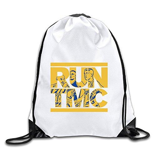 Tim Mitch Chris Warriors RUN TMC Drawstring Backpack Bag Gym Sack (Fox Racing Backpack Girls)