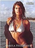 Yamila Diaz Rahi trading card (Sports Illustrated Swimsuit Bikini Model) 2005 SI #97