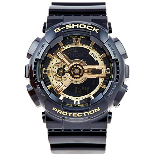 Casio G-Shock X-Large Skeleton Gold Dial GA110GB-1 ()