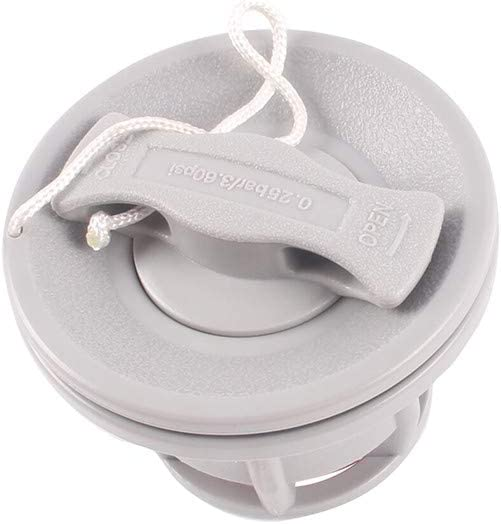 VonVonCo Outdoor Inflatable PVC Raft Inflatable Boat Kayak Canoe Accessorie Gas Valve Adapter Cap