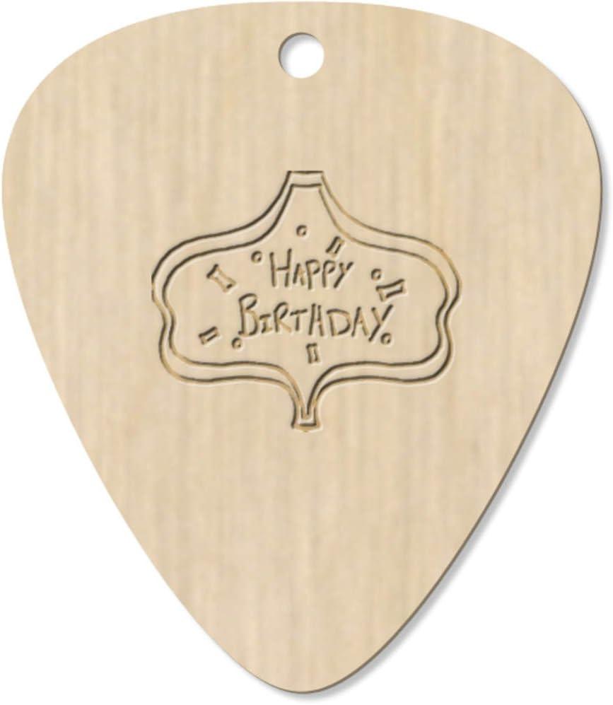 Azeeda 7 x Feliz Cumpleaños Guitarra Púa (GP00001638): Amazon.es ...