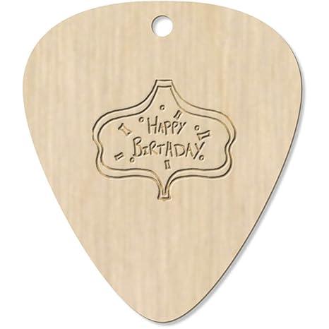 Azeeda 7 x Feliz Cumpleaños Guitarra Púa (GP00001638)