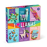 Search : Craft-tastic - I Love Llamas Kit - Craft Kit Includes 6 Llama-Themed Projects