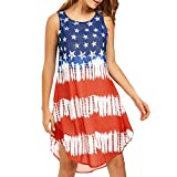 Best American Crafts Hair Scissors - Respctful Loose Sleeveless American Flag Print Sleeveless V Review