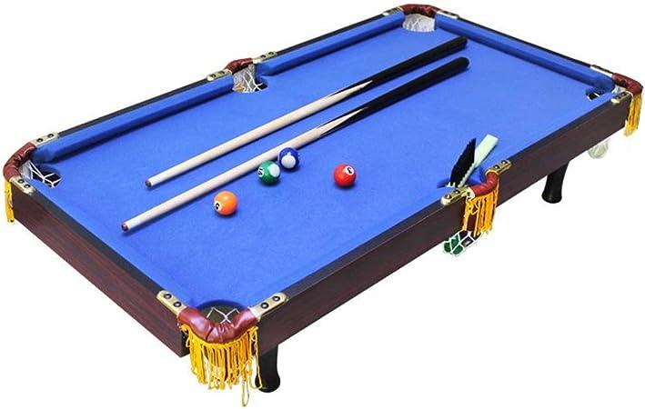 Yishelle-game Juego de Mesa, Deportes De Mesa Mesa De Billar Juego De Billar For Niños - Tema De Los Deportes para Vacaciones de cumpleaños (Color : Azul, tamaño : 92x50x20cm): Amazon.es: Hogar