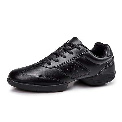 Zapatillas de Baile, Bailarines de Jazz, Zapatos de Baile Griego de Las señoras Negro
