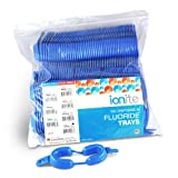 Ionite 56-00196 Dual Arch Fluoride Treatment Tray, Large, Blue (Pack of 100)