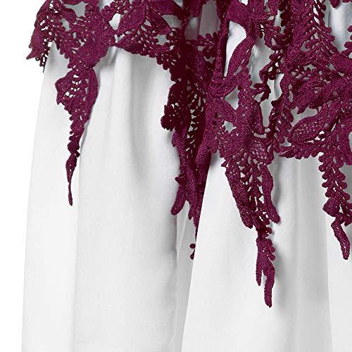 Flare Longues Chemisier Imprim Shirts Blouses Vin Femmes Guesspower Blouses Femme Taille XXXXXL S Tops Grand T Tops Sleeve T Mode Du Manches Shirt Tunique Keyhole Atdd6xOqw