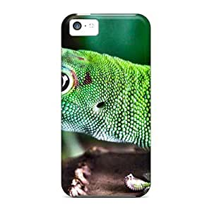 Snap-on Case Designed For Iphone 5c- Green