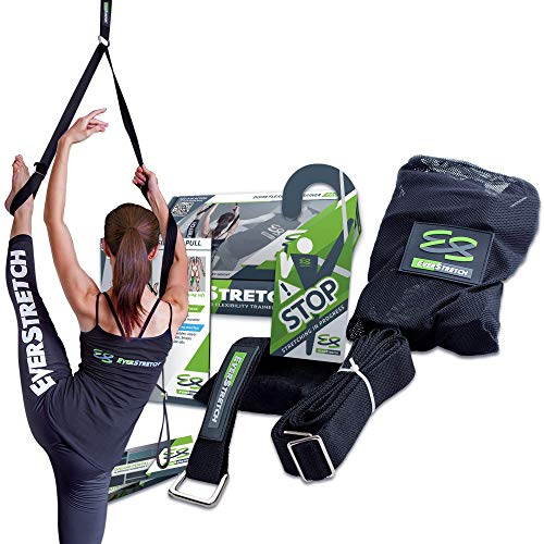 EverStretch Leg Stretcher: Get More Flexible with The Door Flexibility Trainer PRO Premium Stretching Equipment for Ballet, Dance, MMA, Taekwondo & Gymnastics. Your own Portable Stretch Machine! (Best Dance Moves Ever)
