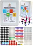 Molecular Model Kit Organic Chemistry Set by Dalton Labs - 306 Piece Expanded Teaching Edition, Educational Molecule Set - Atoms, Bonds, Orbitals - Advanced Teaching Atomic Structure