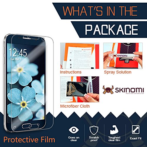 Galaxy S9 Plus Screen Protector (Case Friendly, 2-Pack), Skinomi TechSkin Full Coverage Screen Protector for Galaxy S9 Plus Clear HD Anti-Bubble Film