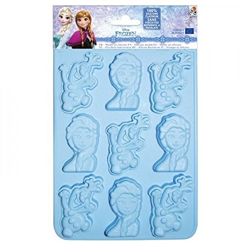 ScrapCooking Disney Frozen & Olaf Silicone Mould, Blue