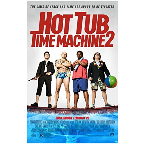 (Hot Tub Time Machine 2 8x10 Photo Cast Photo Movie Poster SOAK HARDER kn )