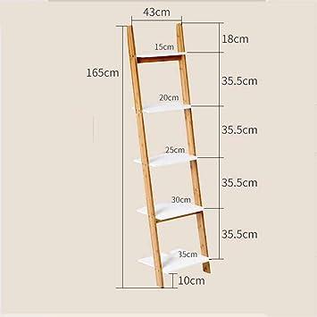 MTG Estantería de estantería Escalera blanca Unidad de estantería Exhibidor de almacenamiento Estante inclinable Estante resistente, moderno y versátil para cualquier estante interior interior Ahorro: Amazon.es: Bricolaje y herramientas