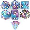 アイディアおもちゃ7個 ダイス クトゥルフ ボードゲーム カードゲーム用 ダイス セット サイコロ (A)