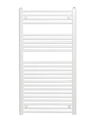 Dolomite NDWS1100-600 - Toallera Recta, Blanco, 1100 x 600 mm