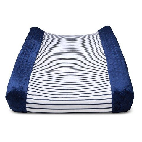 Circo Wipeable Changing Pad Cover - Navy Stripe