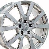 vw rims 18 - 18x7.5 Wheel Fits Volkswagen - VW Golf Style PVD Chrome Rim, Hollander 69943