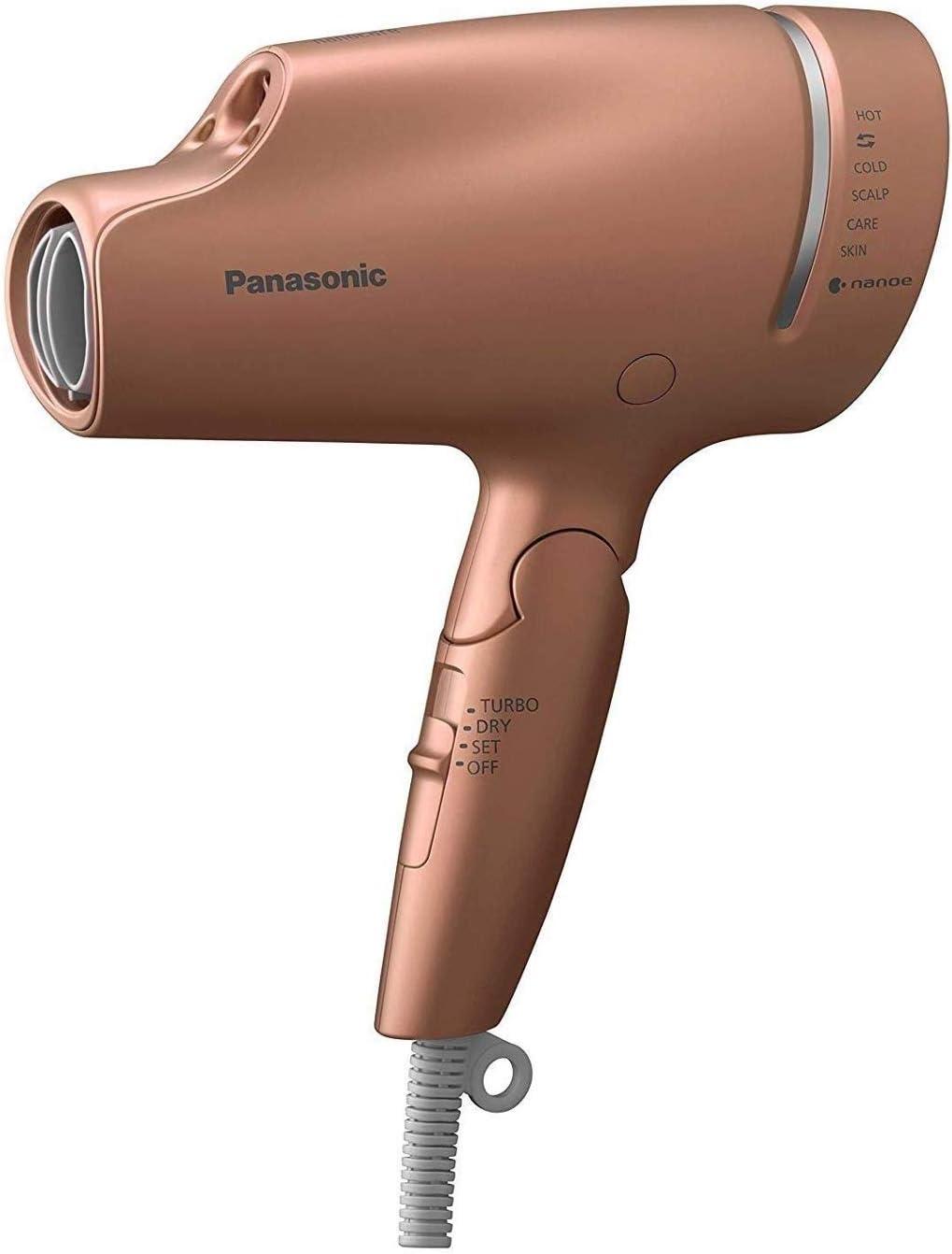 Panasonic EH-NA9A-CN hair dryer nano care kappa gold [1200W] (Japan Domestic genuine products)