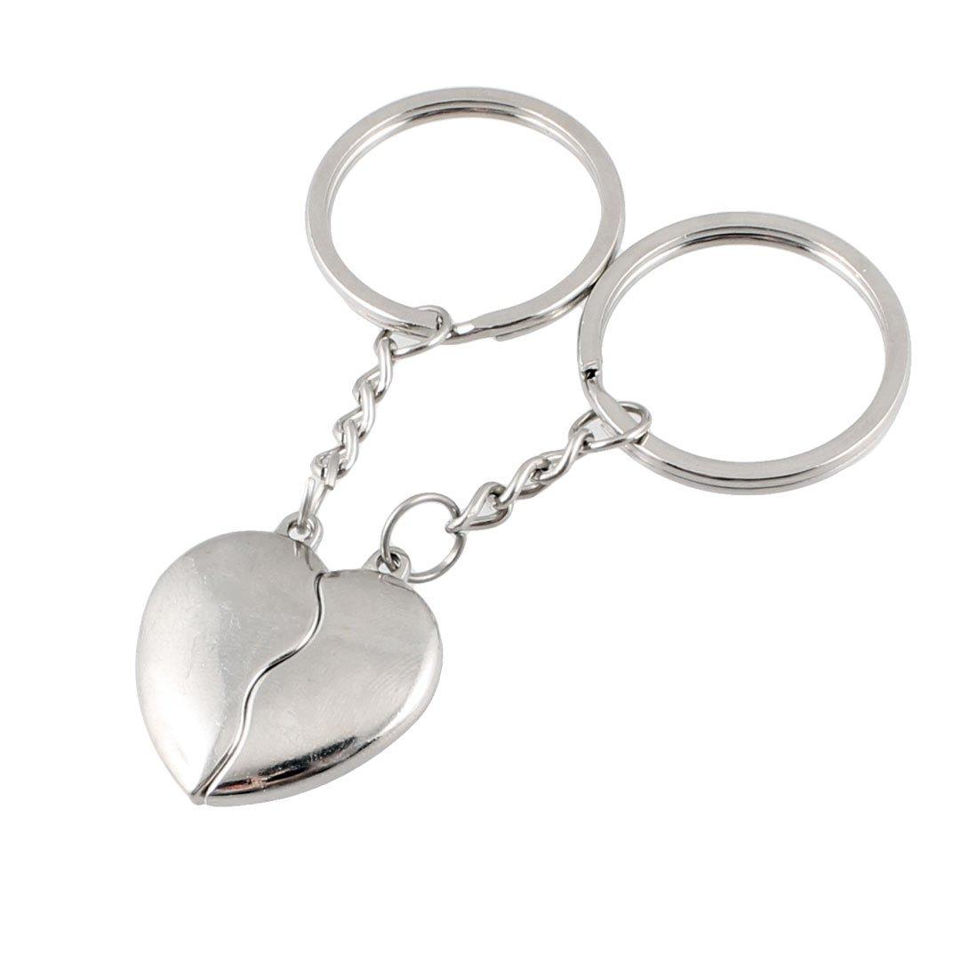 Amazon.com: mallofusa Par de derivación Split Corazón Clave ...